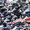 Harley-davidson Rally by Steve Bell