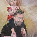 Daddy Ride by Linda Vorderer