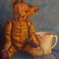 Dad's Teddy by Rebecca Hauschild