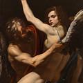 Daedalus And Icarus by Orazio Riminaldi