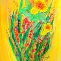 Daffodiles  by Renate Dartois