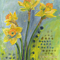 Daffodils II by Sandy Krage