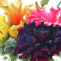 Dahlia Bouquet by Kathy Moll