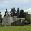 Dahmen Barn Historical by Louise Magno