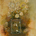 Daisies In A Jar by Betty Stevens