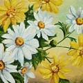 Daisies In The Sky by Sorin Apostolescu