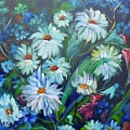Daisies  by Jenny Lee