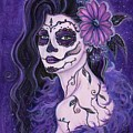 Daisy Day Of The Dead by Renee Lavoie