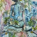 Daisy In The Garden by Denise Allen