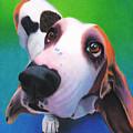 Basset Hound - Daisy by Annie Nelson