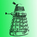 Dalek Green by Richard Reeve