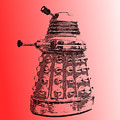 Dalek Red by Richard Reeve