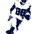 Dallas Cowboys Dez Bryant by Joe Hamilton