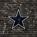 Dallas Cowboys Nfl Football by Nicholas Legault