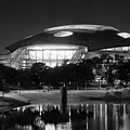 Dallas Cowboys Stadium Bw 032115 by Rospotte Photography