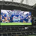 Dallas Cowboys Take The Field by Craig David Morrison