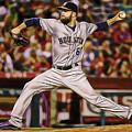 Dallas Keuchel Baseball by Marvin Blaine