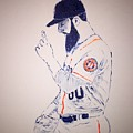 Dallas Keuchel Give Thanks by Jack Bunds