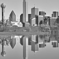 Dallas Monochrome by Skyline Photos of America