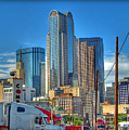 Dallas Morning Skyline by Farol Tomson