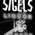 Dallas Neon Sigels B W 052618 by Rospotte Photography