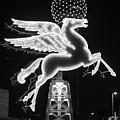 Dallas Pegasus Bw 121517 by Rospotte Photography