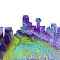 Dallas Skyline 4 by Erzebet S