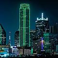 Dallas Skyline by David Downs