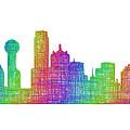 Dallas Skyline by David Zydd