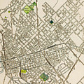 Dallas Texas Map 1899 by Peter Ogden Gallery