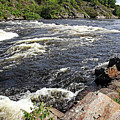 Dalles Rapids French River I by Debbie Oppermann