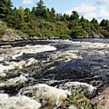 Dalles Rapids French River II by Debbie Oppermann