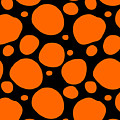 Dalmatian Pattern With A Black Background 03-p0173 by Custom Home Fashions