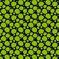 Dalmatian Pattern With A Black Background 09-p0173 by Custom Home Fashions