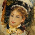 Dame En Toilette De Ville 1875 by Renoir PierreAuguste
