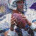 Dan Marino Mosaic by Paul Van Scott