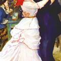 Dance At Bougival 1883 by Renoir PierreAuguste