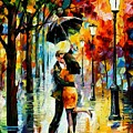 Dance Under The Rain by Leonid Afremov
