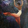 Dancer A by Sylva Zalmanson