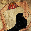 dancer of Ancient Egypt by Michal Boubin