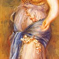 Dancer With Castanettes 1909 by Renoir PierreAuguste