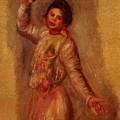Dancer With Castenets 1895 by Renoir PierreAuguste
