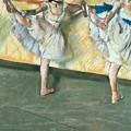 Dancers At The Bar by Edgar Degas
