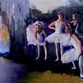 Dancers Backstage by James Gallagher