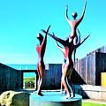Dancing At Sea Ranch by Lisa Dunn
