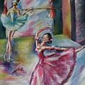 Dancing Ballerinas by Khatuna Buzzell