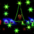 Dancing Christmas Trees by Kay Brewer