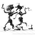 Dancing Couple 1 by Manuel Sueess