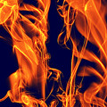 Dancing Fire I by Clayton Bruster