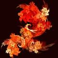 Dancing Firebirds by Oni H